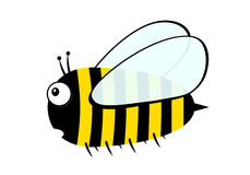 Пчела - иллюстрация Стоковые Фотографии RF