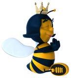 Пчела потехи иллюстрация вектора