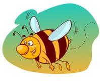 Пчела шаржа Стоковая Фотография RF