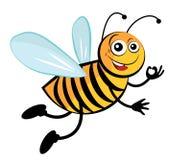 Пчела. иллюстрация штока