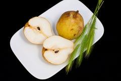 пшеница груш ушей Стоковое Фото
