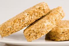 пшеница завтрака печенья Стоковые Изображения RF