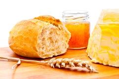 пшеница крена меда масла Стоковые Фотографии RF