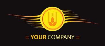 пшеница логоса конструкции Стоковая Фотография RF
