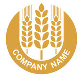 пшеница логоса Стоковая Фотография RF