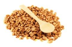 пшеница ложки стоковое фото rf