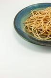 пшеница макаронных изделия вся Стоковые Изображения