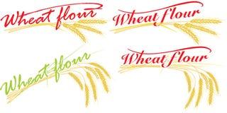 пшеница муки составов Стоковые Изображения RF