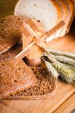 пшеница отрезанная хлебом Стоковые Изображения RF