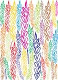 пшеница предпосылки Стоковые Фото