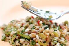 пшеница салата стоковые изображения
