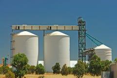 пшеница силосохранилищ Стоковые Фото