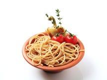 пшеница спагетти вся Стоковые Фото
