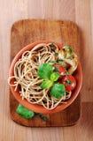 пшеница спагетти вся Стоковые Изображения RF