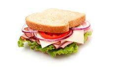пшеница сэндвича с ветчиной хлеба вся Стоковое фото RF