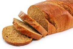 пшеница хлеба изолированная крупным планом вся стоковое изображение