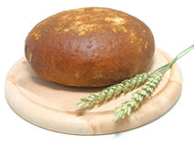 пшеница хлеба свежая круглая стоковые изображения