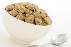 пшеница хлопий для завтрака здоровая Стоковое Изображение RF