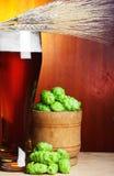 пшеница хмеля пива стоковые фото