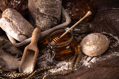 пшеница хлеба свежая Стоковые Фото