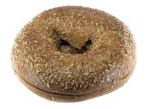 пшеница bagel вся Стоковая Фотография RF
