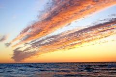 пылает небо Стоковые Изображения RF