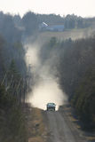 пылевоздушная дорога Стоковое фото RF