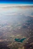 пылевоздушное небо Стоковые Изображения