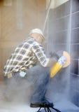 пылевоздушная работа Стоковая Фотография