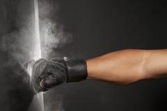 пылевоздушный пунш Стоковая Фотография
