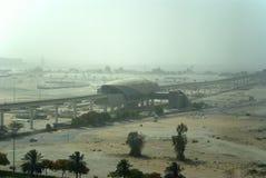 пыльная буря Дубай Стоковые Фотографии RF
