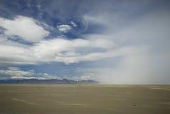 пыльная буря Юта пустыни Стоковые Изображения