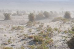 пыльная буря стоковое изображение rf