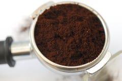 пыль кофе Стоковое Фото