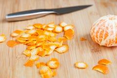 Пыл мандарина стоковая фотография rf
