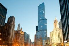 Пышная миля на петле в Чикаго Стоковые Фото