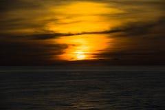 Пышное небо вечера Стоковые Изображения RF