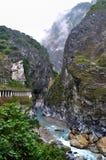 пышное taroko национального парка горы Стоковые Фотографии RF