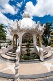 Пышно грандиозный белый висок Rong Khun виска, Chiang Rai Стоковые Фото