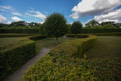 Пышные сады королевского дворца Drottningholm Стоковые Изображения RF