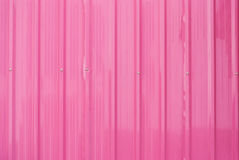 Пылевоздушная розовая текстура предпосылки металлического листа Стоковая Фотография RF