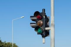 Пылевоздушный мальтийсный светофор Стоковые Изображения