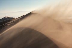 Пыльная буря в пустыне Стоковые Фотографии RF