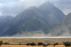 Пыльная буря на национальном парке кашевара держателя Стоковая Фотография
