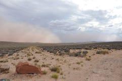 Пыльная буря стоковое изображение