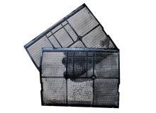 Пыль воздушного фильтра пакостная Стоковые Фото