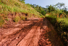 Пыль дороги Стоковое фото RF