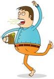 Пьяный человек Стоковые Изображения RF