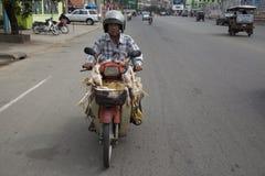 Пюном Пеню, Камбоджа стоковые изображения rf