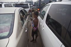 Пюном Пеню, Камбоджа Стоковое Изображение RF